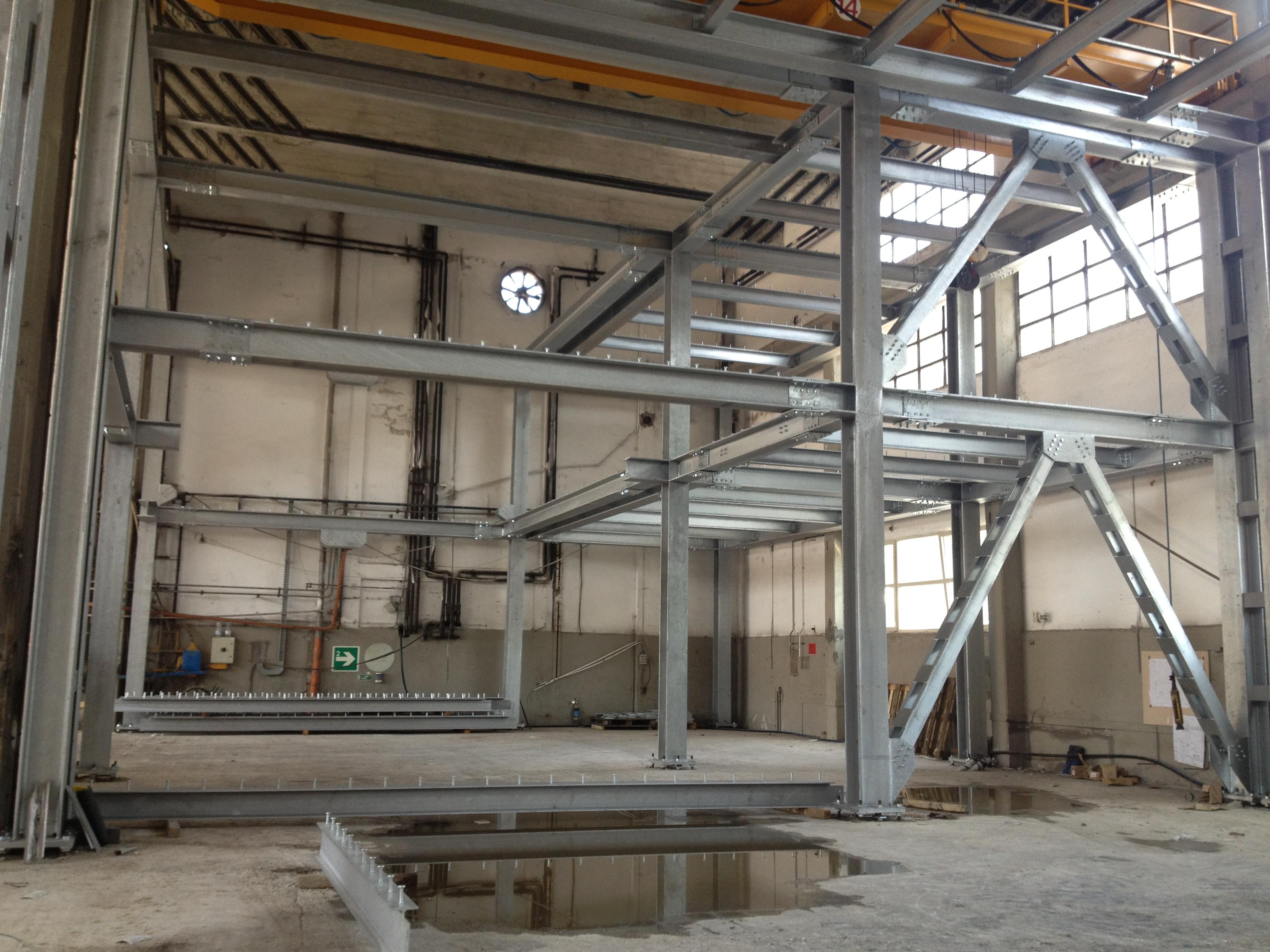 Soppalco In Legno Per Esterno soppalco in acciaio